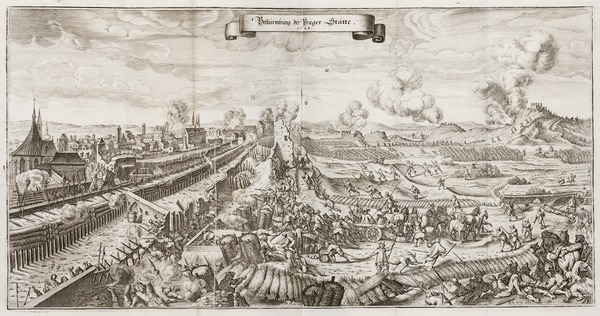 The final battle of the Thirty Years' War; Swedish siege of Prague (1648)