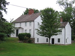 Slater Park - Daggett House, built circa 1685, is located within the park