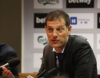 Slaven Bilić - Bilić during a West Ham press conference in 2015