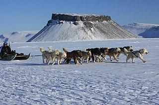 Pituffik Place in Greenland, Kingdom of Denmark