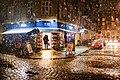 Snow at Christianshavn and the local Irma supermarket, winter in Copenhagen (København, Danmark) (33120547321).jpg