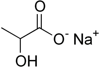 Sodium lactate group of stereoisomers