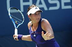 Sofia Arvidsson at the 2010 US Open 01.jpg