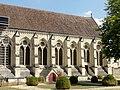 Soissons (02), abbaye Saint-Jean-des-Vignes, réfectoire, vue depuis le nord-ouest.jpg