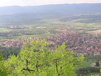 Sokobanja - Image: Sokobanja view