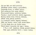 Sonety Shakespeare'a I-CXXXIV i CXXXVII-CLIV Maria Sułkowska (MUS) page 121 sonet 107 cropped image.jpg