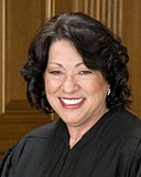 Sonia Sotomayor in SCOTUS robe crop