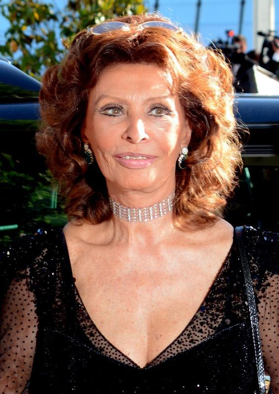 Sophia Loren Cannes 2014 2