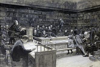 Sotheby's - Image: Sothebys book sale, 1888