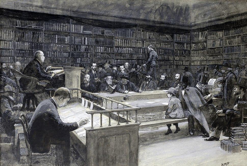 Sothebys book sale, 1888