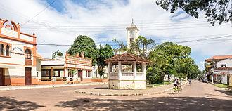 Soure, Pará - Street in Soure, 2015