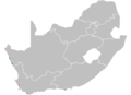 South African nuclear sites showing Koeberg.PNG
