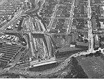 Southern Freeway construction at Balboa Park, 1964.jpg