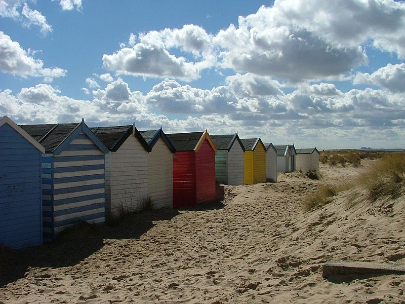 Southwold Beach Huts Paintings