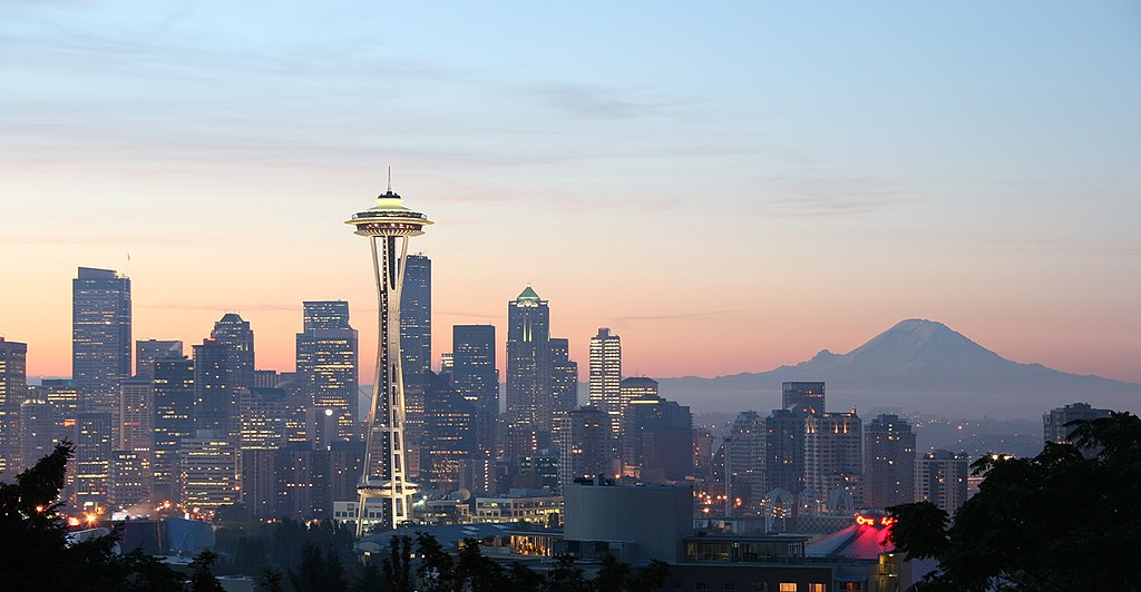 Downtown Seattle from Queen Anne Hill