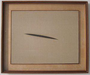 Canvas Santa Fe >> Lucio Fontana — Wikipédia