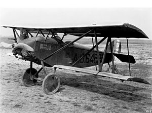 Verville-Sperry M-1 Messenger - A Sperry M-1 at NACA Langley, in 1926.