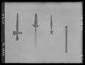 Spets till vildsvinsspjut, 1500-tal, jordfynd - Livrustkammaren - 36478.tif