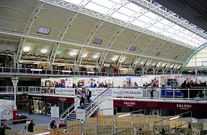 Philatelic exhibition - The London Stampex show is held each Spring and Autumn