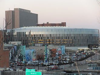 Sprint Center - Image: Sprint Center and Power & Light District