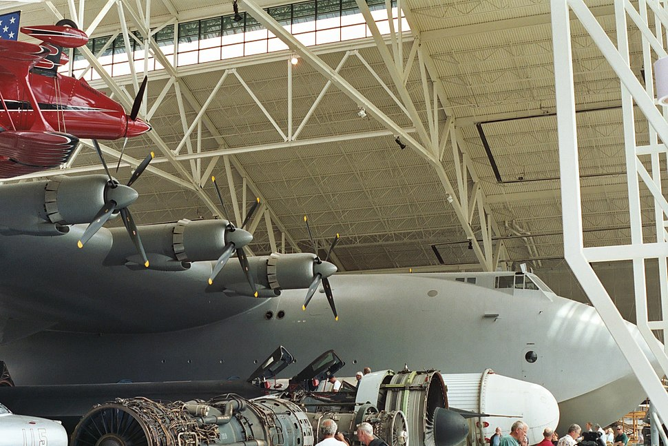 Spruce goose nose and engines