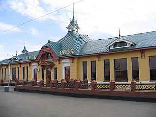 City in Orenburg Oblast, Russia