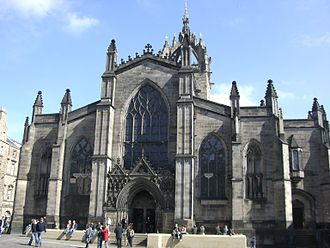 William Hay (architect) - St Giles' Cathedral