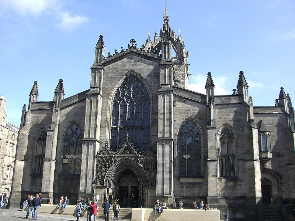 St. Giles' Cathedral front