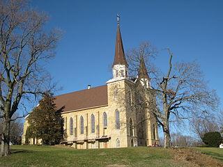 St. Irenaeus Catholic Church (Clinton, Iowa) United States historic place