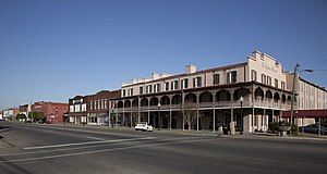 Selma, Alabama - St. James Hotel and a portion of Water Avenue in Selma