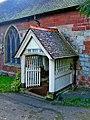 St. Leonard's Church - 17th century porch - geograph.org.uk - 1461969.jpg