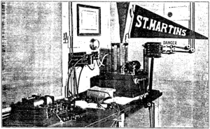 St. Martin's College Radio Station from the March 1916 QST.png