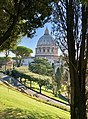 St. Peter's Basilica and Gardens of Vatican City (45885186255).jpg