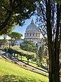 St. Peter's Basilica and Gardens of Vatican City (45885186255).jpg