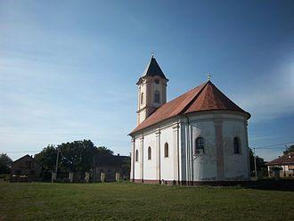 Church of the Holy Venerable Mother Parascheva - Image: St. Petka's Church, Šidski Banovci 1