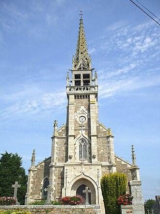 Brélidy - Church of St. Columban