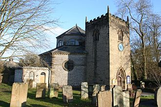 Stoney Middleton - St Martin's Church