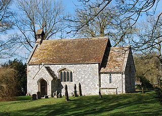 St Andrews Church, Rollestone Church in Wiltshire, England