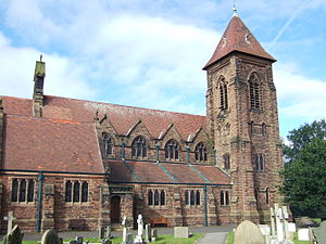 Scarisbrick - Image: St Elizabeth's Church, Scarisbrick