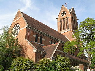 St Lukes Church, Kentish Town Church in London , England
