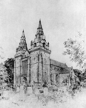 Henry de Lichton - St Machar's Cathedral, Aberdeen; the west front dates from Lichton's episcopate.