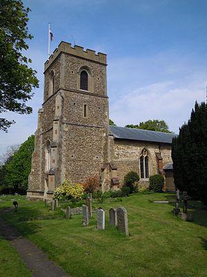 Church of St Nicholas, Norton - The 15th century tower