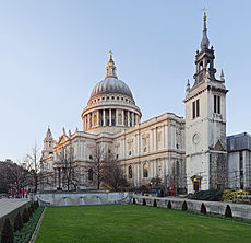 St Paul's Cathedral, London, England - Jan 2010 edit