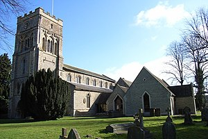 Thomas Bowles - St Peter's parish church, Brackley, Northamptonshire, where Bowles was Rector for 37 years, 1729–66
