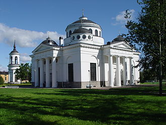 Charles Cameron (architect) - Sophia Ascencion cathedral near Tsarskoye Selo was built as an allegory of Hagia Sofia. It is attributed jointly to Cameron and Ivan Starov.
