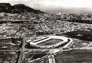 Ahmed Zabana Stadium - Old picture of the stadium