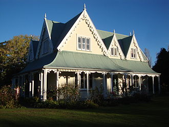 Francis Redwood - Stafford Place, the home of Henry Redwood and family