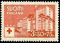 Stamp 1944 - Red Cross Hospital in Helsinki.jpg