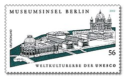Stamp Germany 2002 MiNr2274 Museumsinsel Berlin.jpg