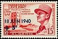 Stamp of Algeria - 1957 - Colnect 211641 - Marechal Leclerc.jpeg